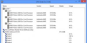 CPU Grab Ex Ekran Görüntüsü