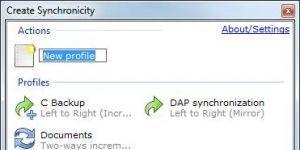 Create Synchronicity Ekran Görüntüsü