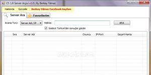 CS 1.6 Server Ar�ivi Ekran G�r�nt�s�