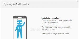 CyanogenMod Installer Ekran Görüntüsü