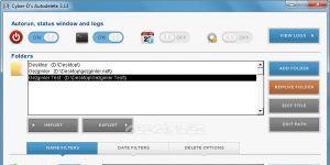 Cyber-D's Autodelete Ekran Görüntüsü