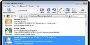 Cyberduck Ekran Görüntüsü