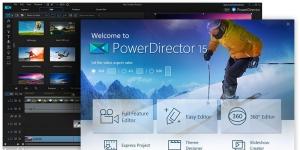 Cyberlink PowerDirector Ekran Görüntüsü