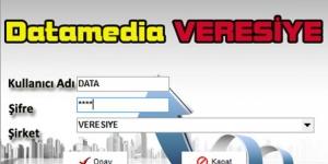 Data Media Veresiye Ekran Görüntüsü