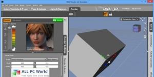 Daz Studio Ekran Görüntüsü