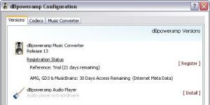 dBpowerAMP Music Converter Ekran Görüntüsü