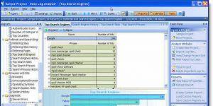 Deep Log Analyzer Free Edition Ekran Görüntüsü