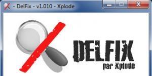 DelFix Ekran Görüntüsü