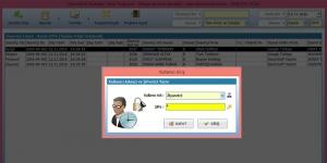 DemirSoft Ziyaretçi Takip Programı Ekran Görüntüsü