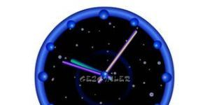 Dijital ve Görsel Saat Ekran Görüntüsü