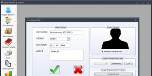 Dijital Veresiye Defteri Ekran Görüntüsü