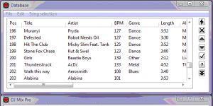 DJ Mix Pro Ekran Görüntüsü