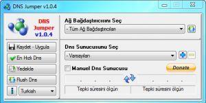 DNS Jumper Ekran Görüntüsü