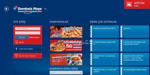 Domino's Pizza Türkiye Ekran Görüntüsü