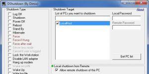 DShutdown Ekran Görüntüsü