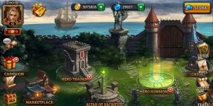 Dungeon Rush PC (BlueStacks) Ekran Görüntüsü