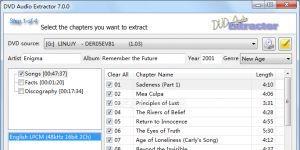 DVD Audio Extractor Ekran Görüntüsü