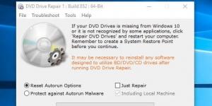 DVD Drive Repair Ekran Görüntüsü