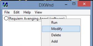 DxWnd Ekran Görüntüsü