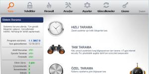 e-Tuğra Internet Security Ekran Görüntüsü