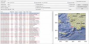 Earthquake Bulletin Ekran Görüntüsü