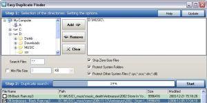 Easy Duplicate Finder Ekran Görüntüsü
