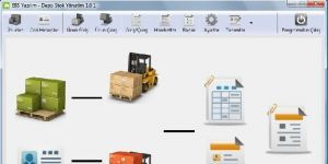 EBS Depo Stok Yönetim Ekran Görüntüsü