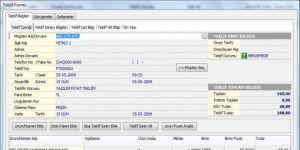 EBS Teklif Takip Programı Ekran Görüntüsü
