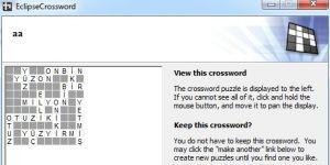 EclipseCrossword Ekran Görüntüsü