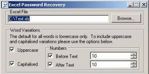 Eeasy Excel Password Recovery Ekran Görüntüsü