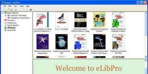 eLibPro Ekran Görüntüsü