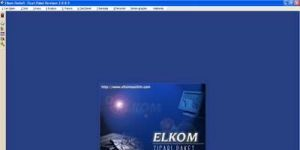 ELkom EkoSoft Standart Ekran Görüntüsü