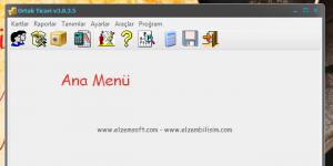 ELZEM ORTAK Müşteri Takip Programı Ekran Görüntüsü