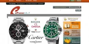 Epazar TR Profesyonel Online Alışveriş Scripti Ekran Görüntüsü