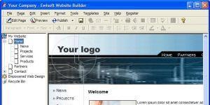 Ewisoft Website Builder Ekran Görüntüsü