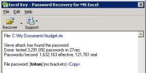 Excel Key Ekran G�r�nt�s�