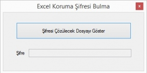 Excel Koruma Kaldırma Ekran Görüntüsü