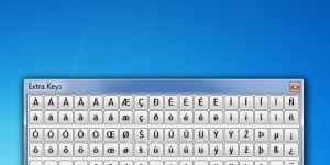 Extra Keys Ekran Görüntüsü