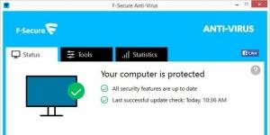 F-Secure Anti-Virus Ekran Görüntüsü