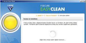 F-Secure Easy Clean Ekran Görüntüsü