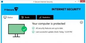 F-Secure Internet Security Ekran Görüntüsü
