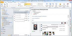 Facebook için Outlook Sosyal İçerik Bağlayıcı Ekran Görüntüsü