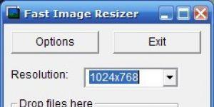 Fast Image Resizer Ekran G�r�nt�s�