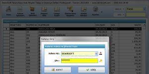 Fatura Müşteri Takip Kasa Stok ve Veresiye Defteri Ekran Görüntüsü