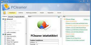 FCleaner Ekran Görüntüsü