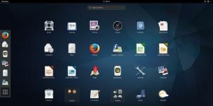 Fedora Linux Ekran Görüntüsü