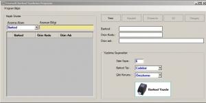 Fenesoft Barkod Yazdırma Programı Ekran Görüntüsü