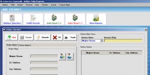 Fenesoft Nakliye Takip Programı Ekran Görüntüsü