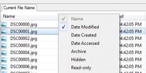 File Attribute Changer Ekran Görüntüsü