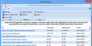 FileOptimizer Ekran Görüntüsü